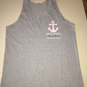 Other - Vintage Delta Gamma Graphic Tank 'Catch of The Day